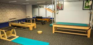 Pilates studio rehabilitation